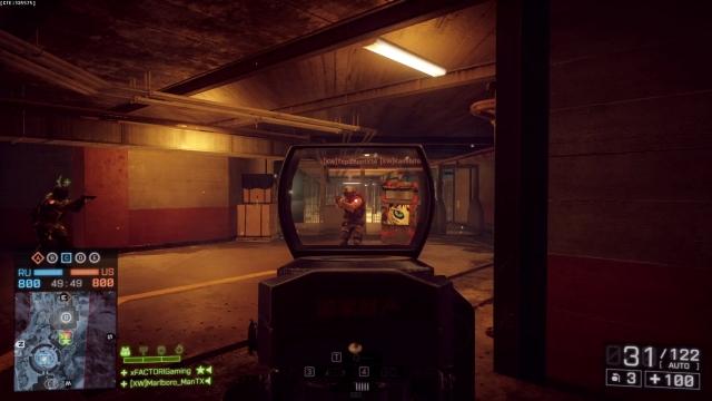 Battlefield 4 : 被弾時のブレ軽減とHUDの詳細な透過設定が追加(検証動画2本)
