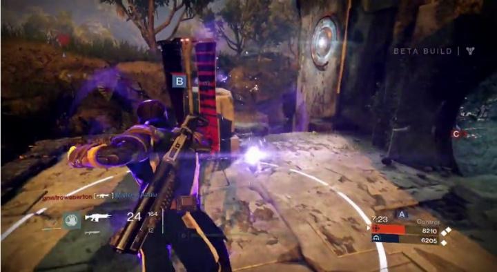 Destiny:ベータ版のスピーディーなドミネーションプレイ動画