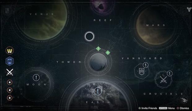 Destiny:発売時のボリュームはストーリーミッション22、マルチマップは11など
