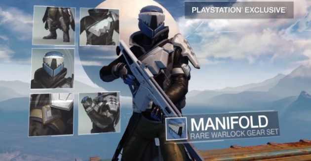 Destiny アーマーmanifold