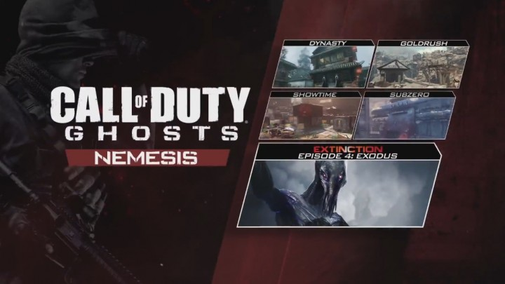 "CoD: ゴースト:最後のDLC""Nemesis""のトレイラー公開!全マップとExtinctionの内容判明"