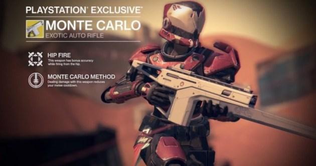 Destiny 武器Monte Carlo(オートライフル)