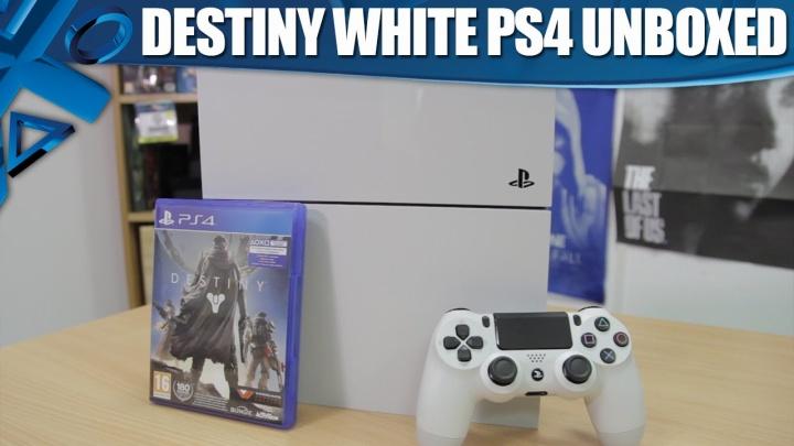 Sony、Destiny同梱のホワイトPS4「開封の儀」動画を公開、全カラー比較も