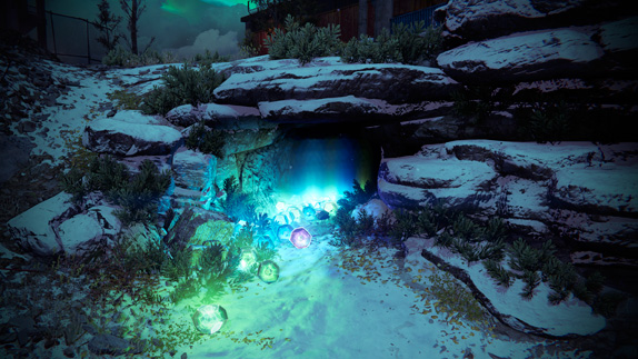 "Destiny:封印された""地球穴""の現在の様子"