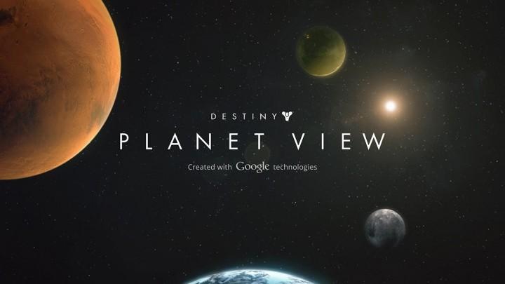 『Destiny』の世界を徒歩で探索できる惑星ツアー – Googleストリートビューを利用