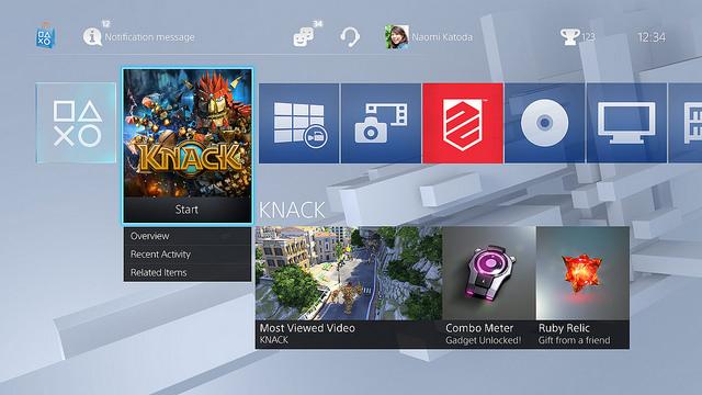 PS4 システムソフトウェア2.0:USB音楽プレイヤーや新ホーム画面、ライブラリなど今秋追加