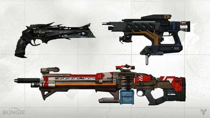 Destiny:全エキゾチック武器の概要とプレイ動画 – 特殊ウェポン・ヘビーウェポン編(11種類)