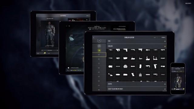 CoD:AW:コンパニオンアプリのトレイラーが公開。エンブレムエディター内蔵!