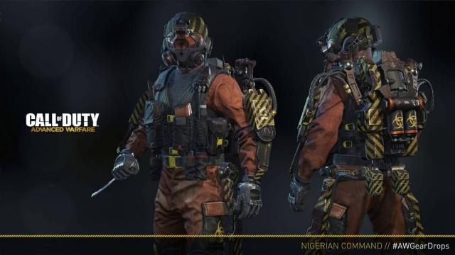CoD:AW:新エリート装備「Elite Nigerian Commander」、プレイヤー全員に無料配布