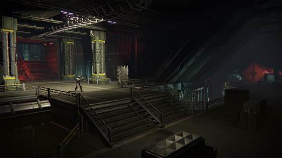 コスモドロームの廃墟地下にある「熾天使の間(Serpahim's Vault)」