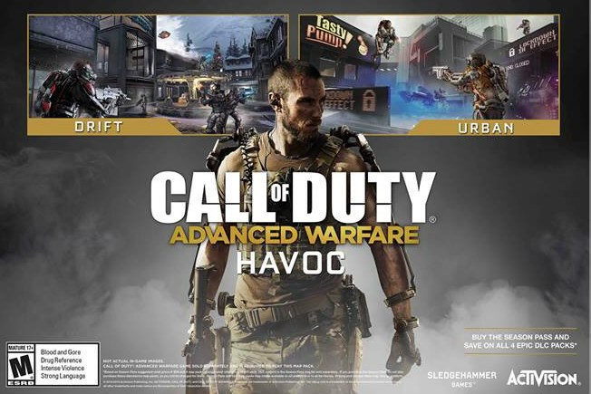 "CoD:AW:DLC ""Havoc""、国内PS4/PS3へ配信開始"