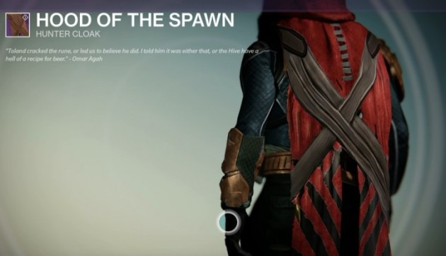 『Destiny(デスティニー)』HOOD OF THE SPAWN