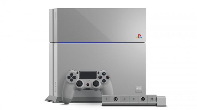 PS 20周年を記念した限定数の「レトロPS4」発売、PS4向け「初代のテーマ」も