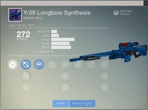 『Destiny(デスティニー)』Webやアプリから保管庫やキャラクターへのアイテム移動と装備が可能に