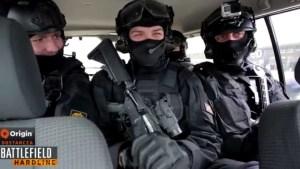BFH:フリーズ!! 特殊部隊がファンへBFHグッズを「本気」で届ける公式動画