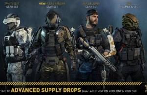 『Call of Duty: Advanced Warfare(コール オブ デューティ アドバンスド・ウォーフェア)』「アドバンスドサプライドロップ」に新限定装備