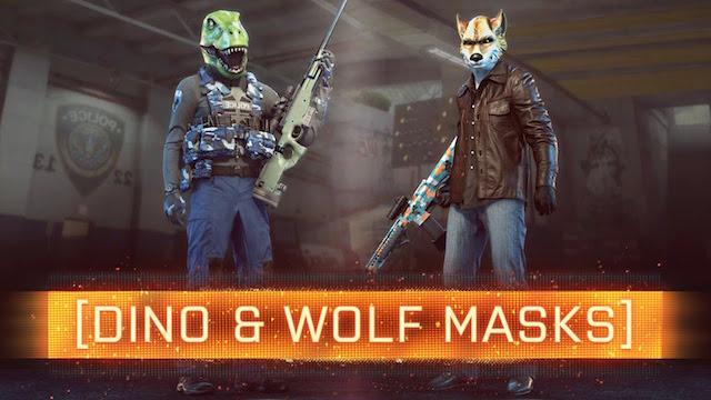 BFH:「恐竜と狼のマスク」のアンロック条件が判明、かなり大変!