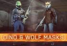 『Battlefield Hardline(バトルフィールド ハードライン)』 BFH:恐竜と狼のマスクのアンロック条件が判明、かなり大変!