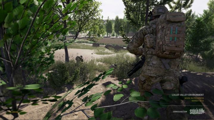 100人対戦!チームプレイ重視の新作FPS『Squad』、Steam Greenlightに登場