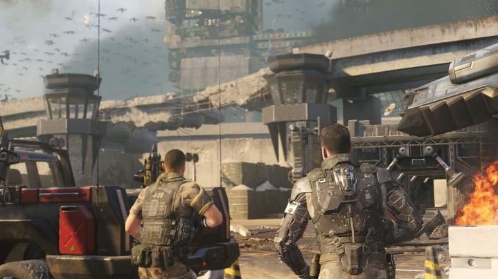 CoD:BO3:ストーリーは現実の機密リーク事件「スノーデン事件」に則したものに。主人公に機械化兵士