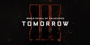 CoD:BO3:世界に向けた詳細の公開が明日午前3時から。プレイ動画もありか!?