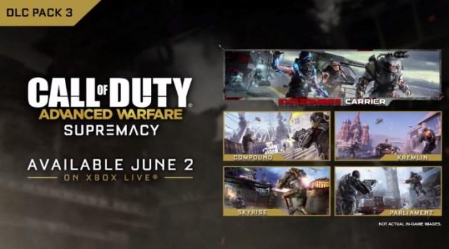 "CoDAW:第三弾DLC""Supremacy"" 公式トレイラー公開、6月2日発売(Xbox)"