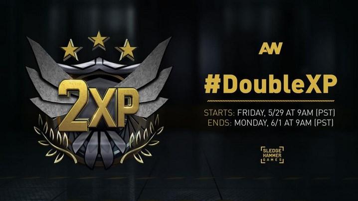 CoD:AW:週末ダブルXP開催、6月2日まで