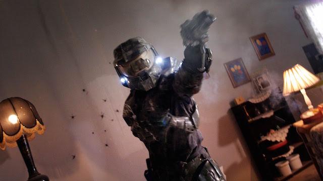 CoD / Halo:CoDプレイヤー vs マスターチーフ vs ○○○! カオスすぎるおもしろ動画