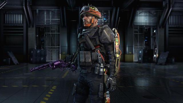 CoD:AW:新武器12種が発掘、紫バージョンのグランドマスター武器?