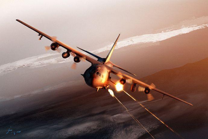 最後のAC-130Hが退役。もう、エネミーAC130はアバーブしないのか