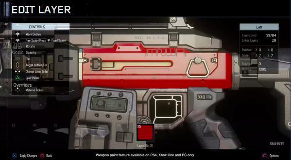 CoD:BO3:武器カスタマイズシステム「ガンスミス」、初のゲーム内イメージ