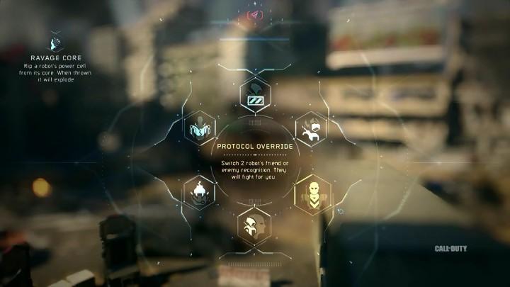 Protocol Override:2体のロボットの敵/味方の認識を切り替え、戦闘に協力させる
