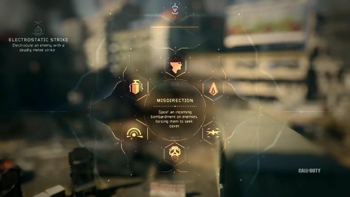 MIsdirection:敵に偽の爆撃情報を与え、カバーに追いやる。