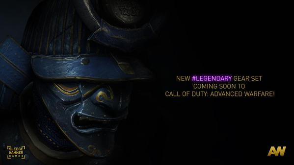 CoD:AW:新レジェンダリー装備は「サムライ」セット!?