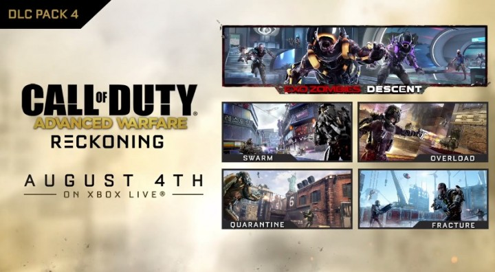 "CoD:AW:第4弾DLC""Reckoning""発表、ゲームプレイトレイラー公開"