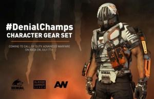 "CoD:AW:""CoDチャンピオンシップ""の覇者Denial E-sportsモデルの装備セット、明日から配信開始 (Xbox)"