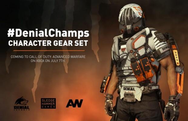 "CoD:AW:""CoDチャンピオンシップ""覇者「Denial E-sports」モデルの装備セットが明日から配信 (Xbox)"