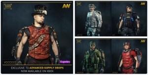 CoD:AW:5種のユニークな新装備セットがASドロップに追加 (Xbox)