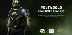 CoD:AW:OpTic Gamingモデルの装備セットが発表、Xboxで現地時間の8月10日から配信