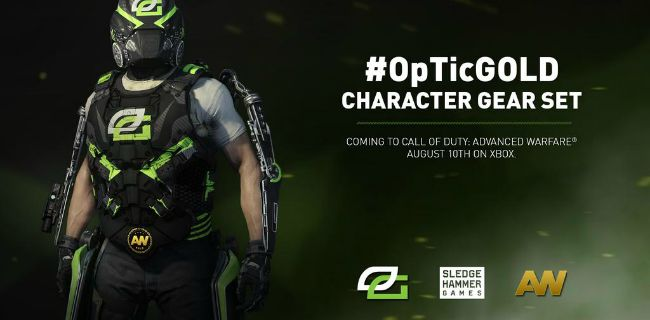 CoD:AW:OpTic Gaming仕様の装備セット、PSとPCで配信開始