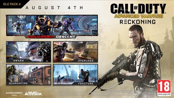 "CoD:AW:第4弾DLC""Reckoning""、PSN / PCへ9月3日配信"