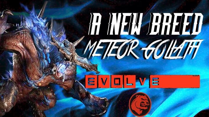 """『Evolve』週末無料開放を発表、新モンスター""""メテオゴリアテ""""も"""