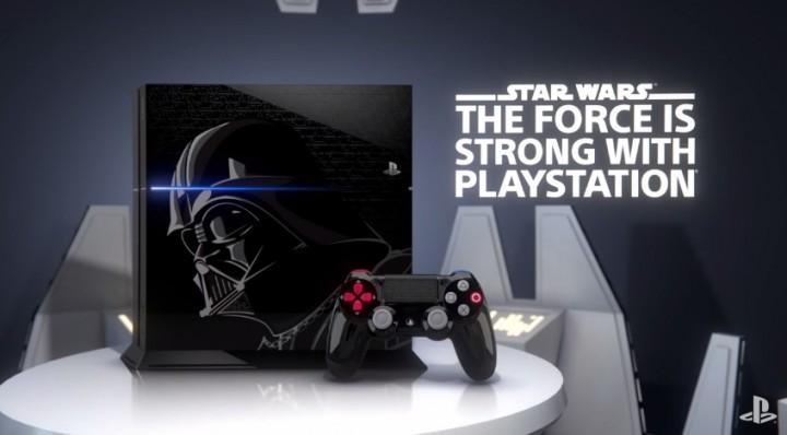 SWBF:ダース・ベイダー仕様の限定 PlayStation 4 発表、豪華特典付き