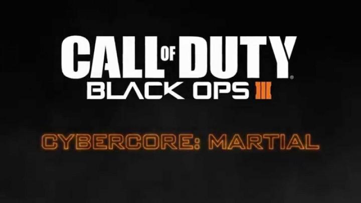 CoD:BO3:肉体強化やステルス能力、サイバーコア「Martial」の紹介映像