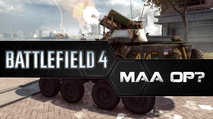 BF4:MAAは強すぎる? またまた弱体化へ
