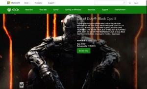 CoD:BO3:Xbox Oneでのダウンロード容量は45GB、事前ダウンロードの開始が目前か