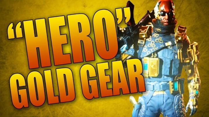 CoD:BO3:黄金装備「ヒーロー」のアンロック方法判明か、スクリーンショットも