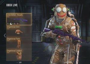 CoD:AW:新武器3種とユニークな新ギア4種が追加(Xbox One)