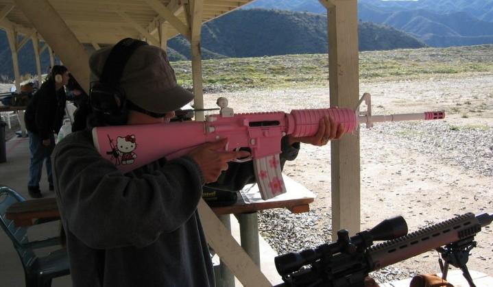 Hellokitty gun