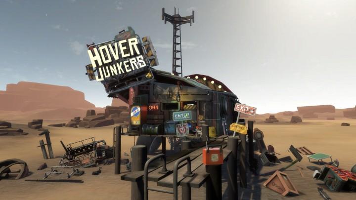 これぞ未来!VR専用ゲーム『Hover Junkers(ホバージャンカーズ)』プレイ映像